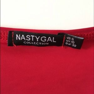Nasty Gal Other - Nasty gal red two piece set